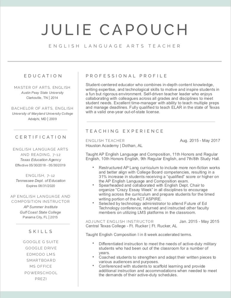 Web Resume 1